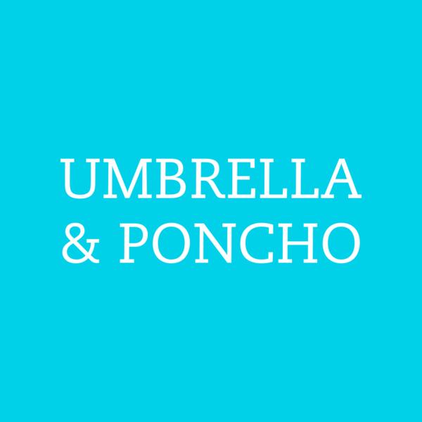 OMBRELLI E PONCHO